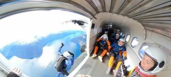 Skulle på fallskjermtur til Alpane – leigde fly og hoppa over Sogn i staden for