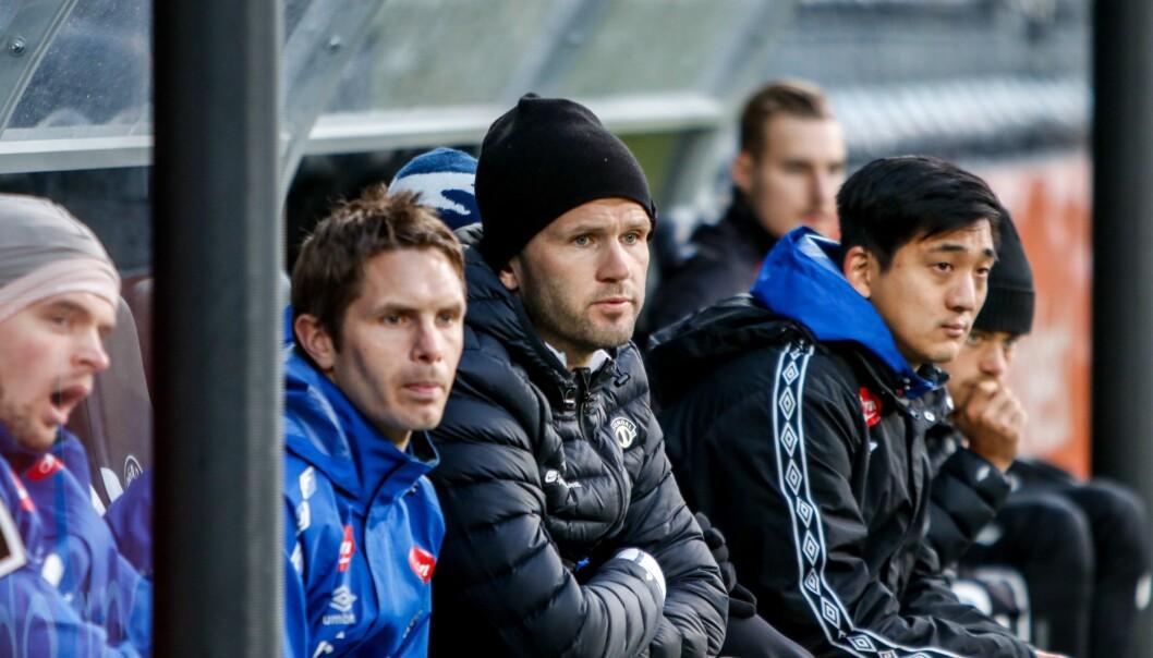 SIGER: Eirik Bakke får revansje på Raufoss, og tar med seg tre poeng heim til Sogndal.