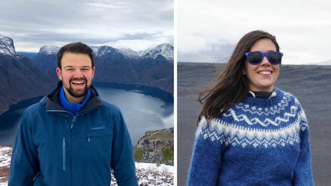 SATSAR: Torgeir Skjerdal og Kristin Skahjem satsar på fjordsauna på Aurlandsfjorden.