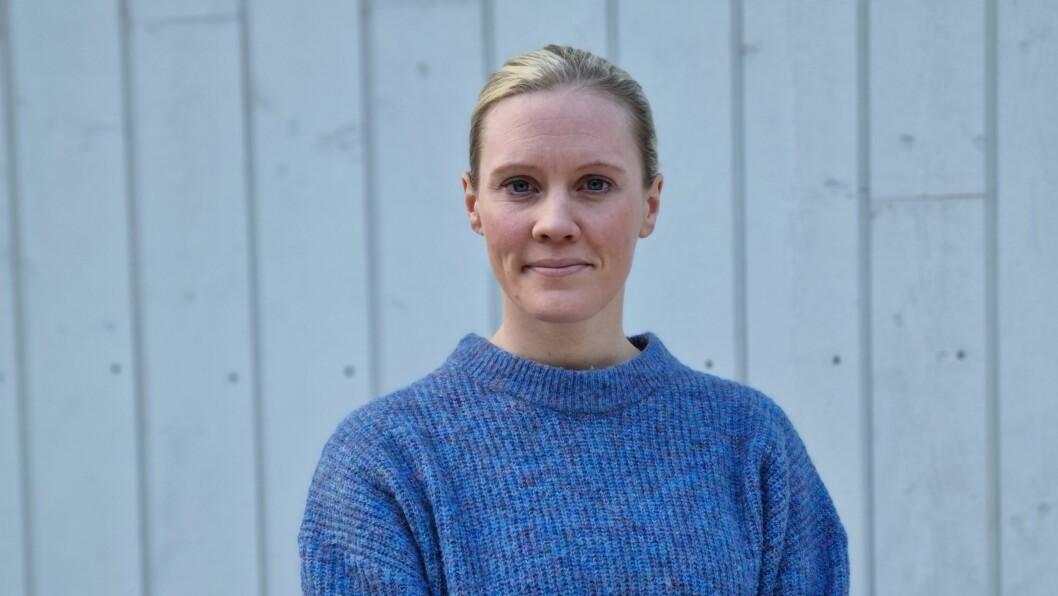 POLITI: Marit Breistøl kjem frå og bur på Borgund i Lærdal. Ho ser fram til å styrke samarbeidet mellom dei tre kommunane.