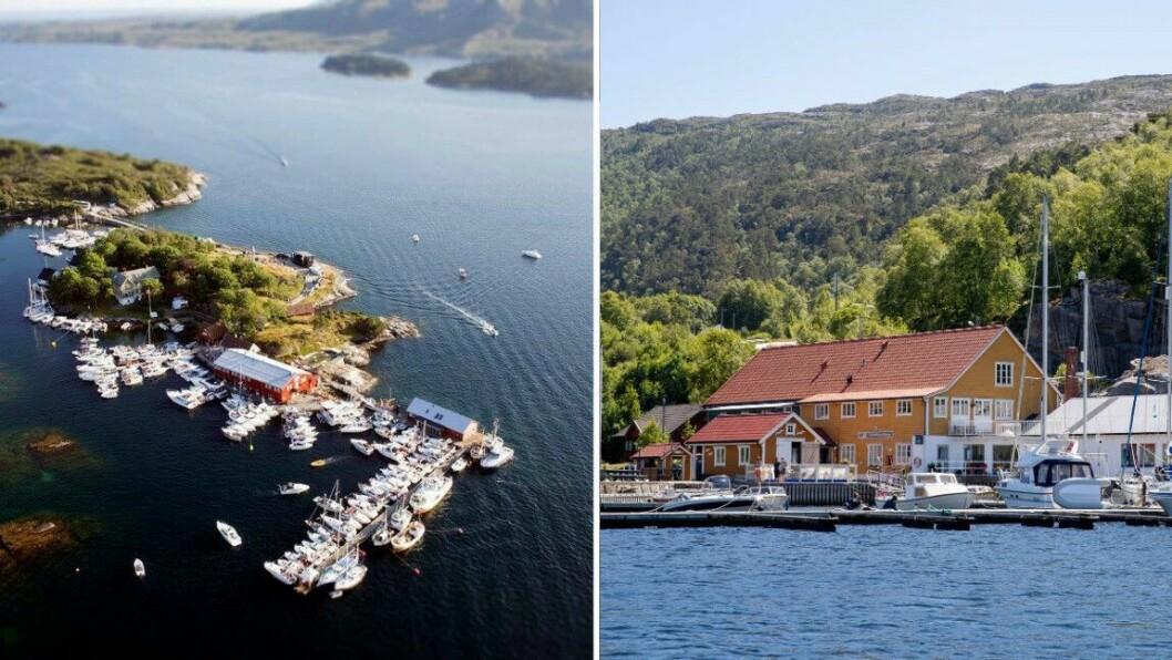 OPTIMISTAR: Både på Skjerjehamn og i Dingja håpar dei på ein travel sommarsesong.