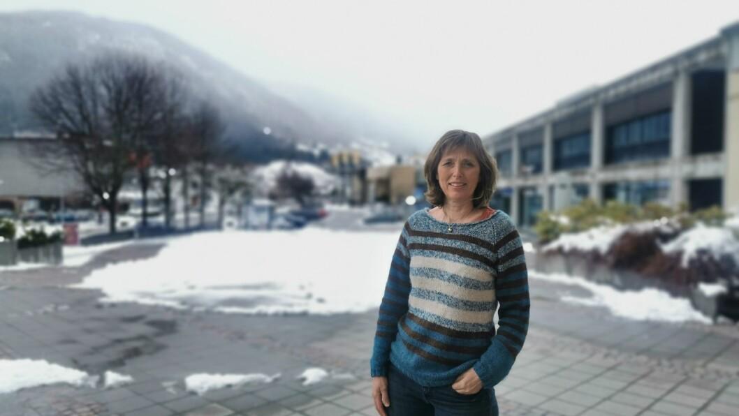 LEIAR: Avdelingsleiar for NAV Sogndal, Rigmor Wathne har hatt nok å gjere det siste året.