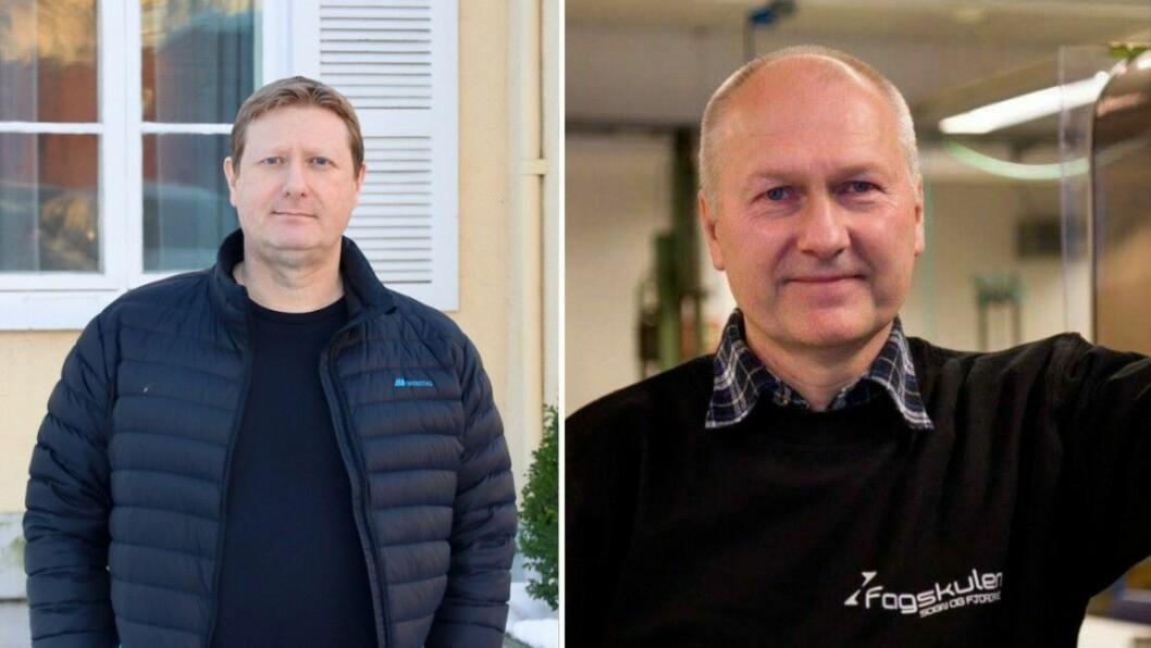 TILBOD: Både Tommy Ølmheim i Høyanger Næringsutvikling og rektor ved Fagskulen i Sogn og Fjordane, Reidar Grønli, meiner det nye fagskuletilbodet vil vere eit viktig tilbod.