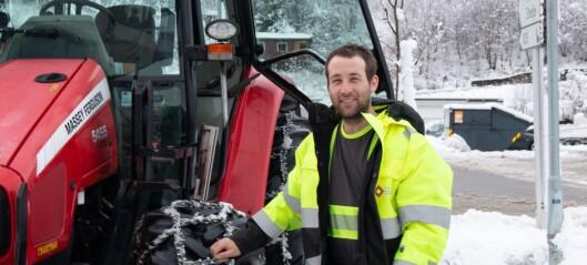Slik takla sogningane det overraskande snøfallet: Klokka var knapt bikka fire når Ole Kristian vart ringt