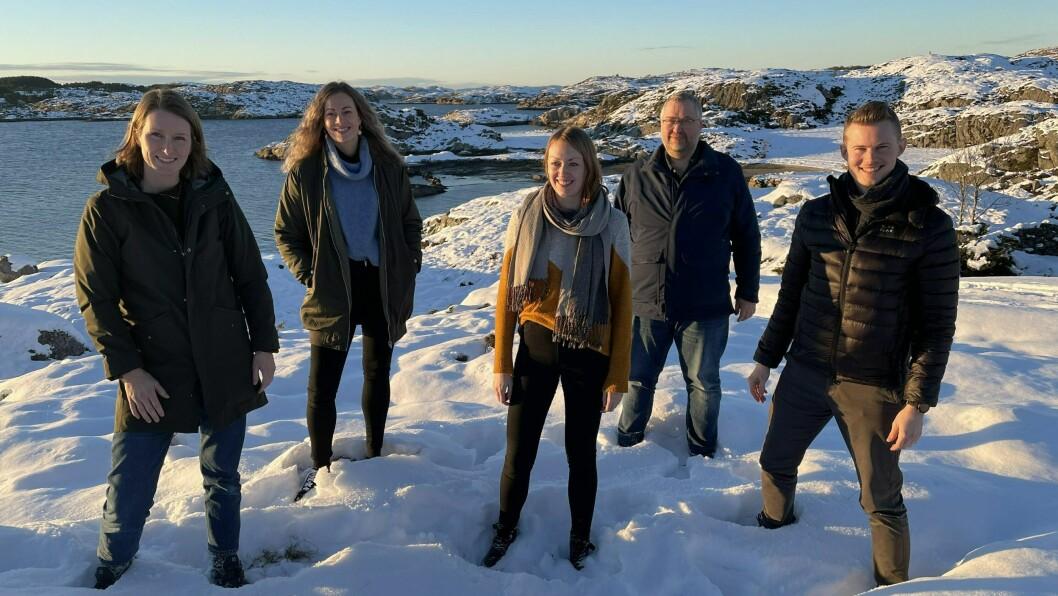 HÅPEFULLE I UTKANT-STYRET: Lina Braanaas Utne, Trude Pedersen, Hanne Svanholm Misje, Jon-Gunnar Kviebakk og Terje Birknes.