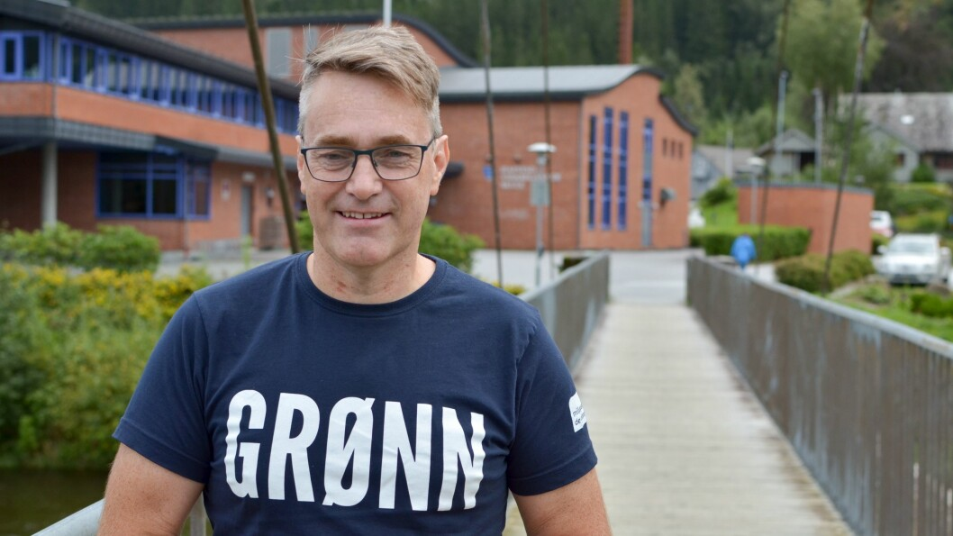 MDG: Fyrstekandidat for MDG i Sogn og Fjordane, Marius Dalin er misfornøgd med storsatsinga.