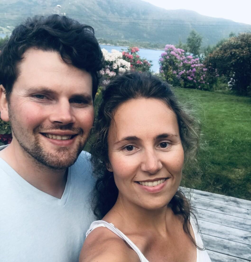 KOMPLISERTE PLANAR: Bryllaupsplanane til Endre Hilleren og Kristina Ladstein er prega av koronarestriksjonane.
