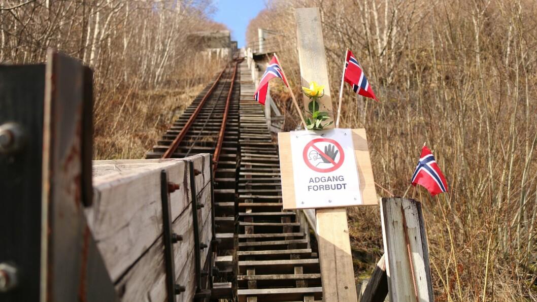ENGASJEMENT: Trappene i Høyanger har verkeleg vekka lokalpatriotismen til live dei siste vekene.