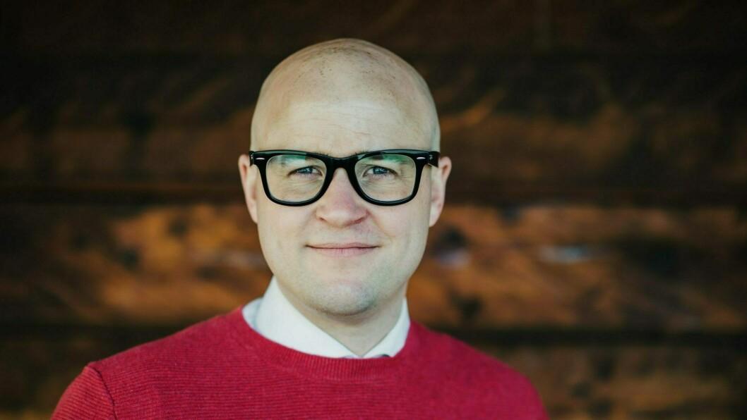 LEIAR: Peder Lofnes Hauge i Noregs Mållag.