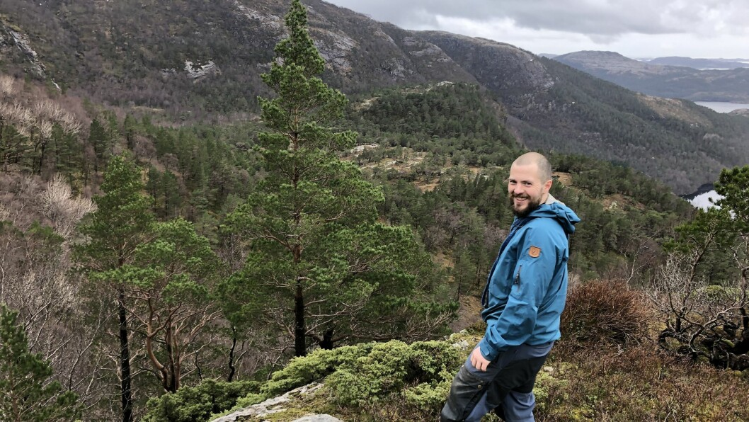 VERN: Knut Håvard Brosvik er ein av tre grunneigarar som har gått med på å lage naturreservat ved Brosvikvatnet.
