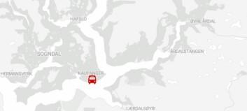 Køyrde i 130 km/t og mista førarkortet på Kaupanger