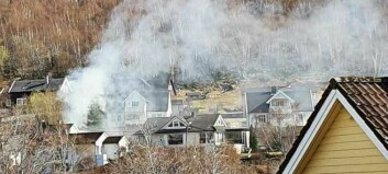 Brannen i Øvre Årdal no under kontroll