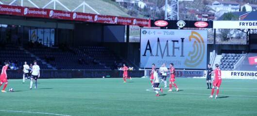 Sogndal leika seg med Brann og vann 4-1