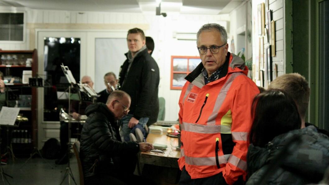 OPTIMIST: Prosjektleiar for Lerum Brygge, Leif Henning Øyre, er optimist.