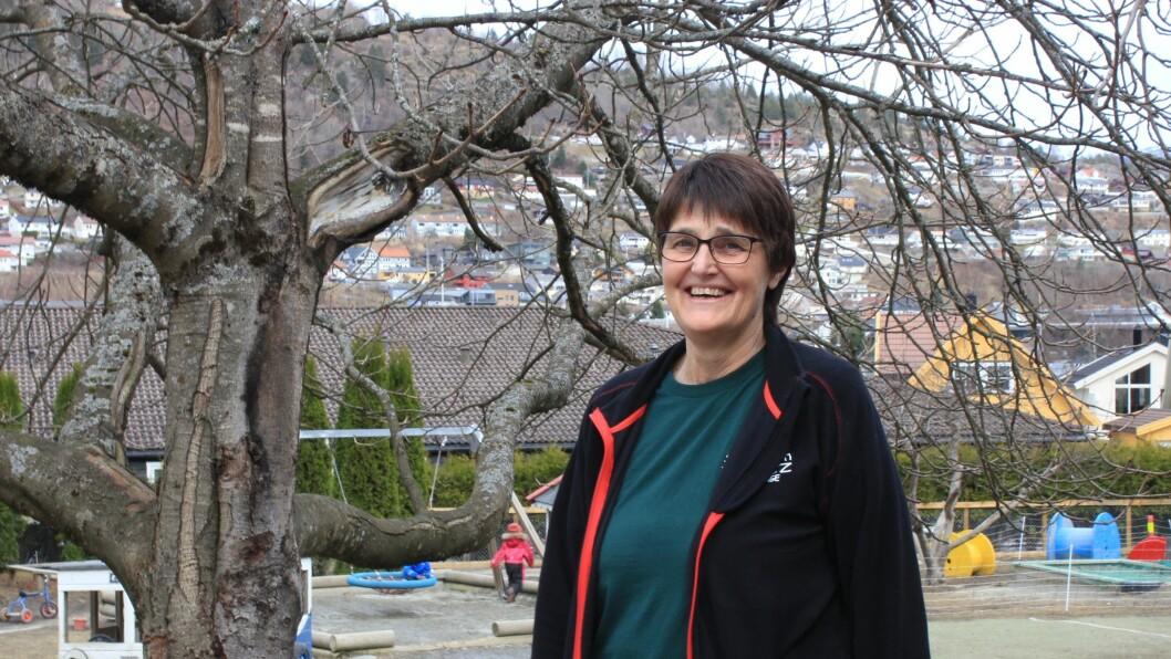KAN SMILE: Leiar Marie Holen Ovrid i musikklaget kan smile ekstra etter dei gode nyheitene.
