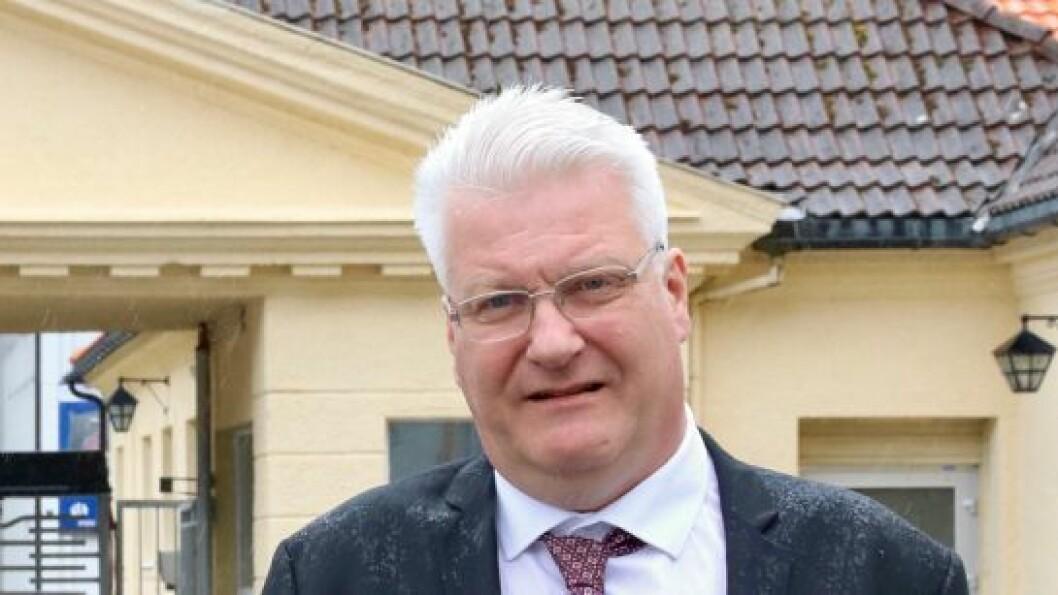 LEIAR: Lars Kjetil Skeie er leiar for LO i ytre Sogn.