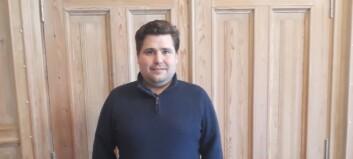 Kristian er ny økonomisjef: – Slike stillingar dukkar ikkje opp kvart år