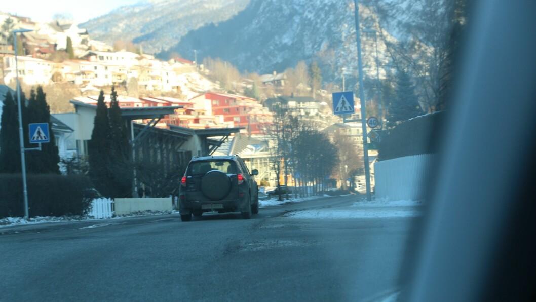 KONTROLL: Trafikkkontrollar i Sogndalsområdet har prega arbeidet til politiet denne veka.