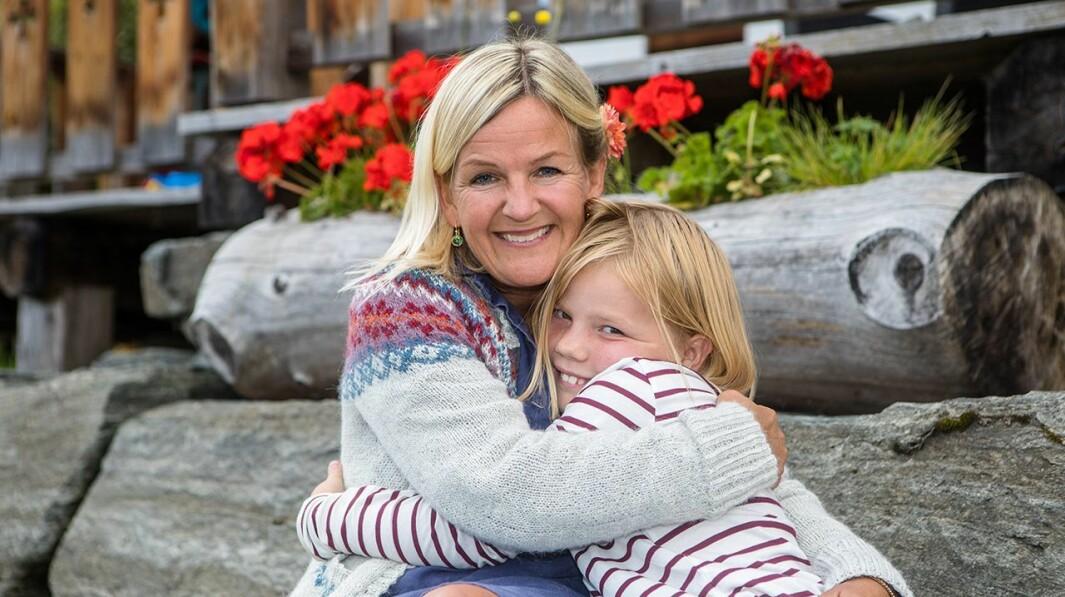 KJÆRLEIK: Kristin Vee skriv mellom anna om kjærleiken til sine eigne barn.