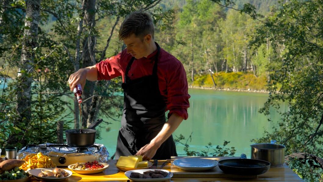 TENKJER NYTT: Joar Søhoel har drive catering eller restaurant i 17 år. Det siste året har han testa ut nye konsept.