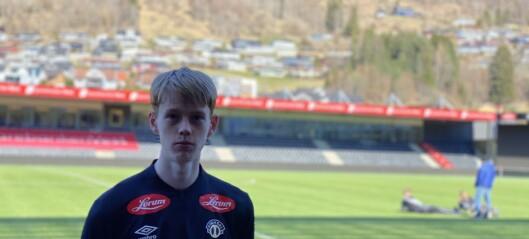 Noah Solskjær (20) henta inn på lån: – Enkelt val å kome hit å få jobbe med Eirik