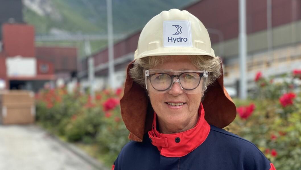 HYDRO: Konsernsjef Hilde Merete Aasheim.