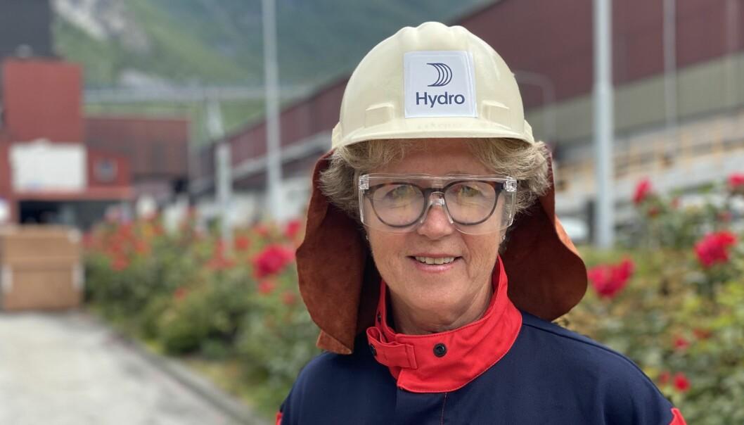 HYDRO: Konsernsjef for Hydro, Hilde Merete Aasheim.
