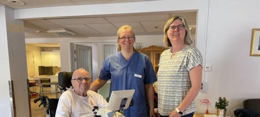 Nye trimsyklar gjev bebuarane ved sjukeheimane i Årdal både trim og noko å snakke om