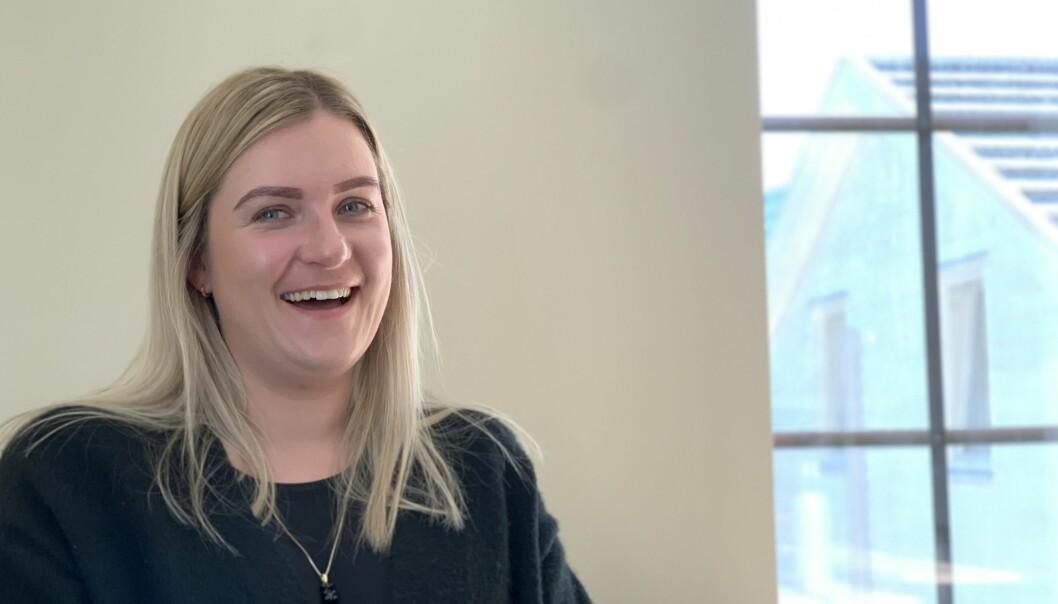 PASSORD: Dagleg leiar Kristine Haglund har ei viktig melding til abonnentar