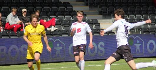 To Sogndalspelarar skorar på sin første kamp frå start