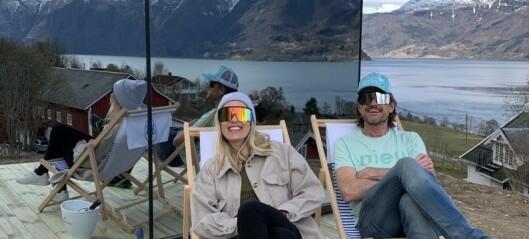 No renn tingingane inn for Anders og Lise i Luster
