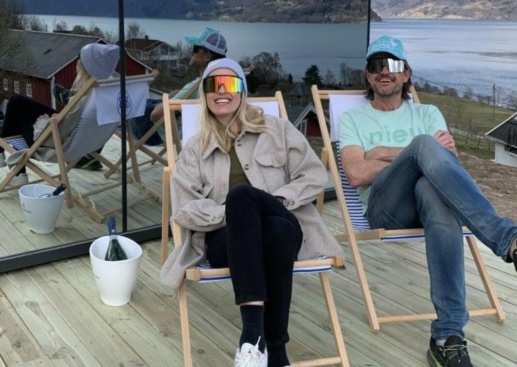 Lise Sværi og Anders Månum har fått ein god start på det nye tilbodet på Nes gard