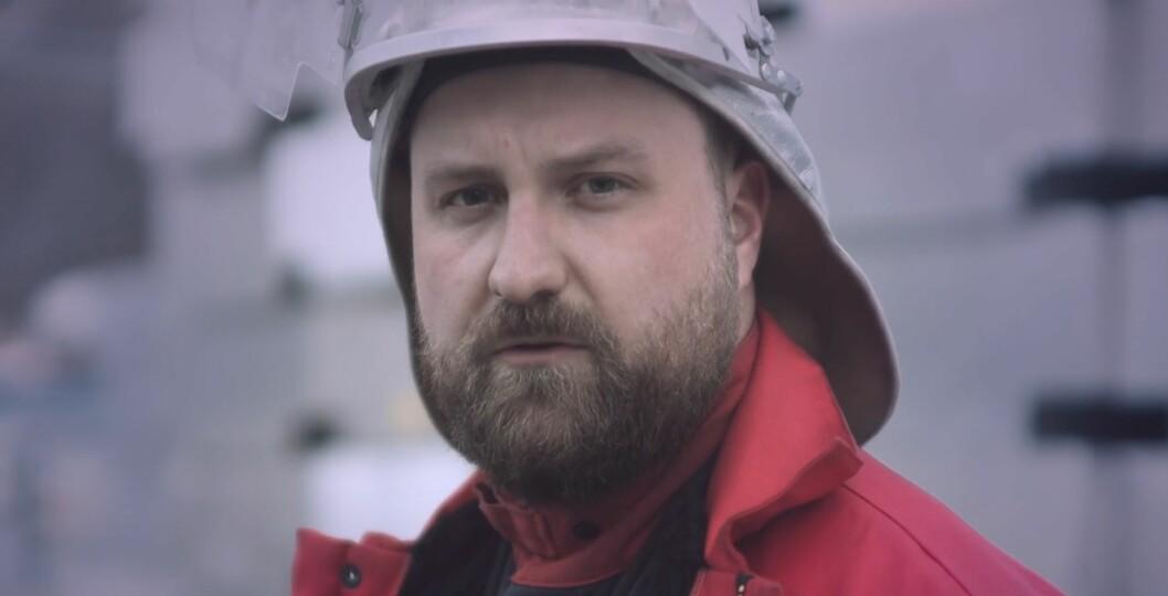 COMEBACK: Arld Raasholm gjorde comeback som artist i videoen