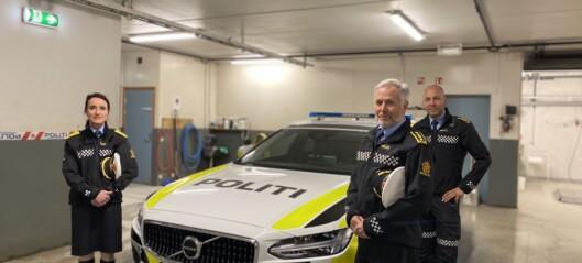 Eit flust av nye bilar er på veg inn: – Kunne aldri ha skjedd i det gamle politidistriktet
