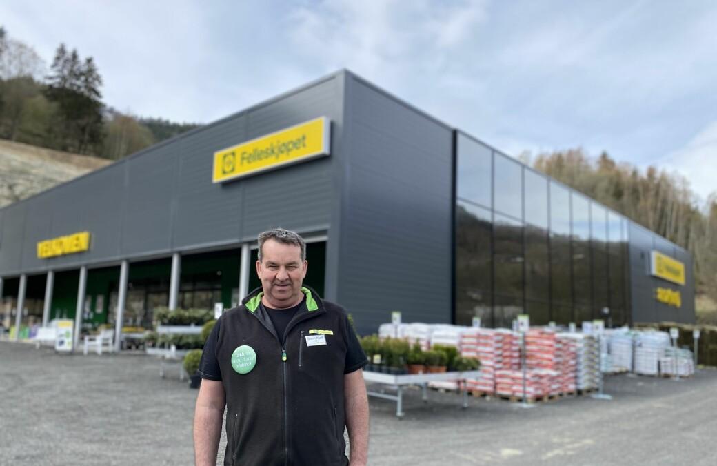 STORSTOVE: Kjetil Hatlevoll har fått seg ei ny storstove