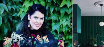 Barndomen til Krista i Aurland var med å forma den fargerike interiørstilen hennar. No er finalist i ei gjev kåring