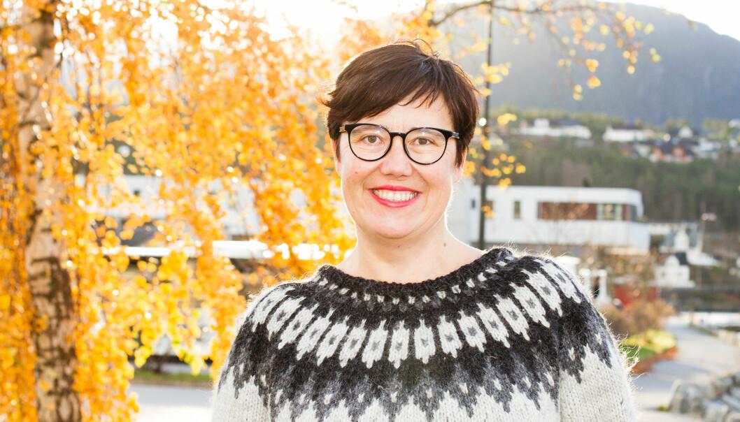 VIL HA FOREBTRINGAR: Stortingskandidat for SV i Sogn og Fjordane, Hege Lothe meiner bondeopprøret er heilt nødvendig.