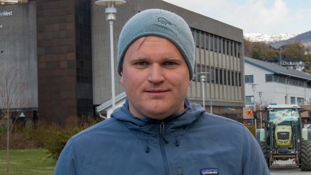 SNUR: Aleksander Øren og Senterpartiet snur i skulesake om Sogndal vgs.