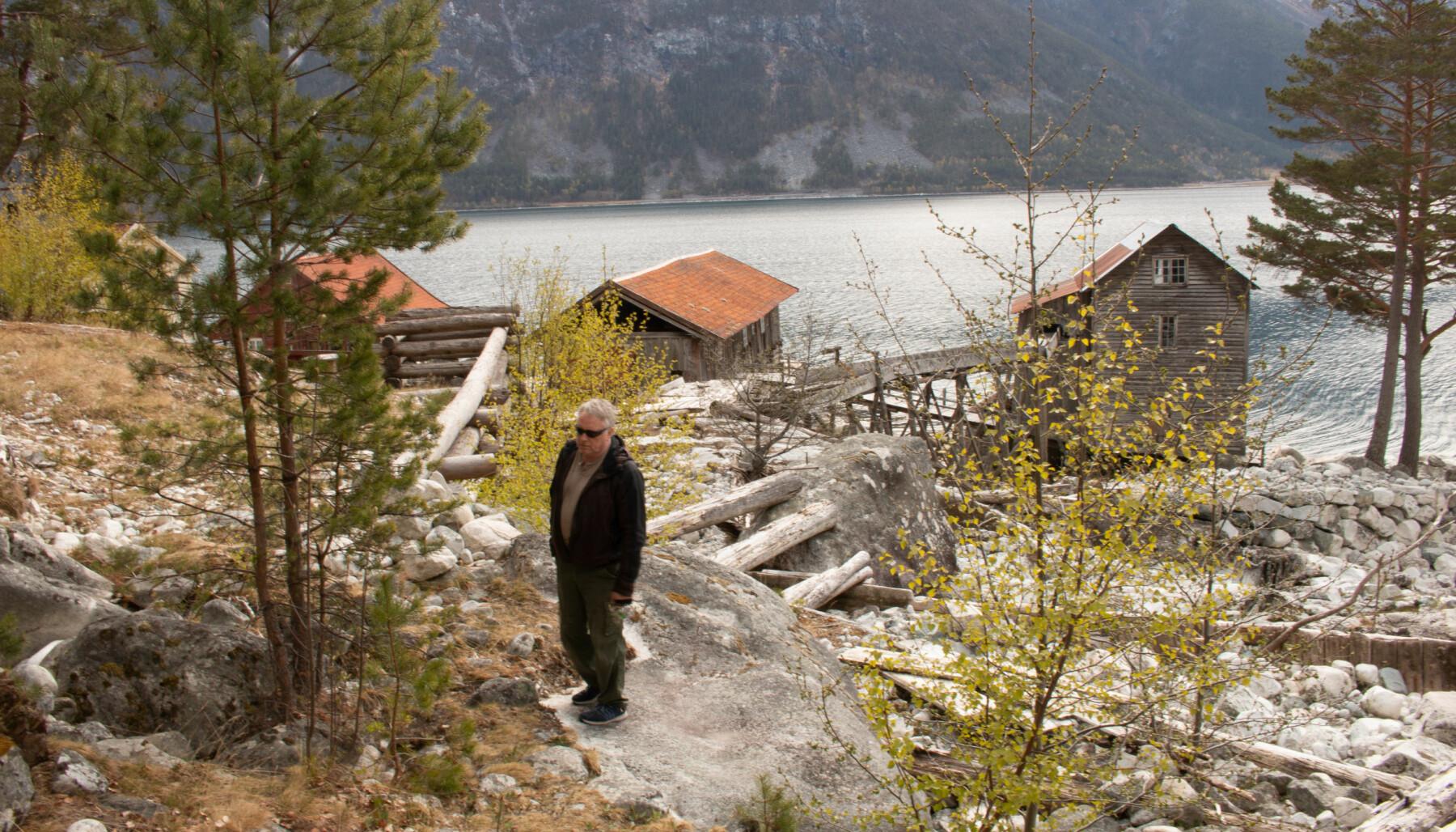 STÅR PÅ: I seks år har Harald Thune og dei andre i «Indre Ofredals vener» stått på for kulturminnet.