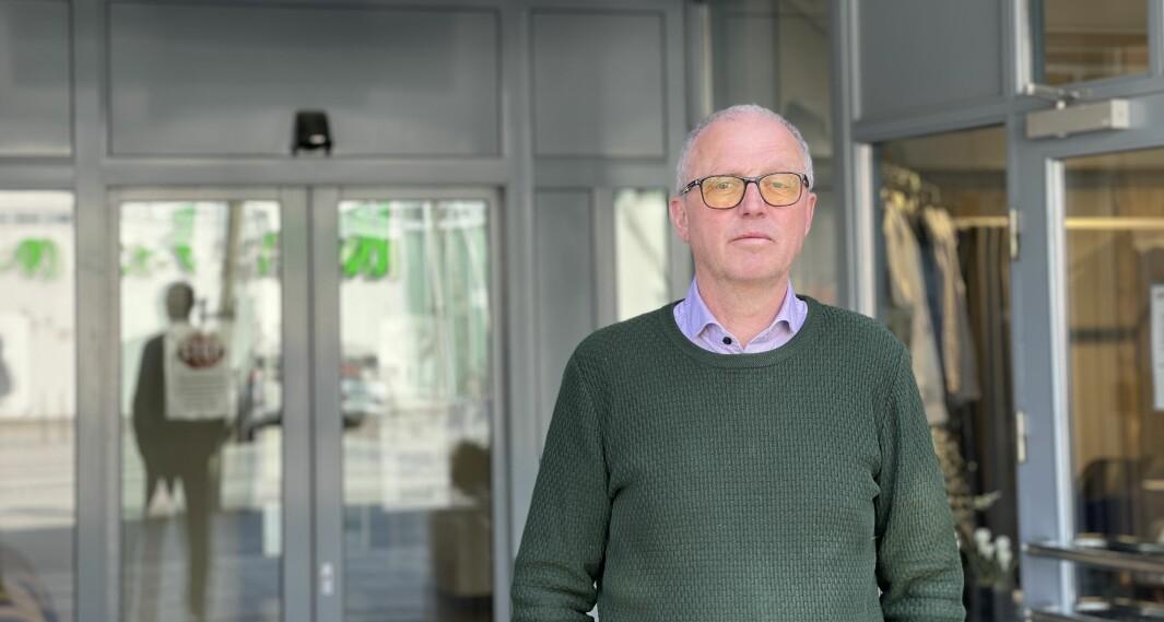 SMITETILFELLE: Frode Myklebust er kommuneoverlege i Årdal, Lærdal og Aurland