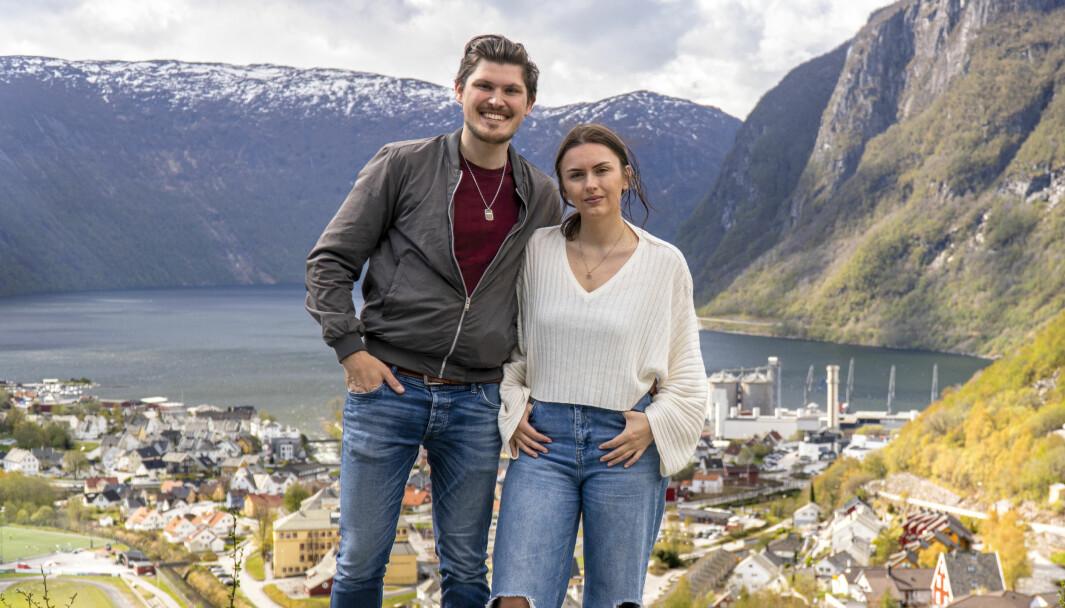 HØYANGER: Paret og kollegaene har base i Høyanger, men tek på seg oppdrag i både indre og ytre Sogn.