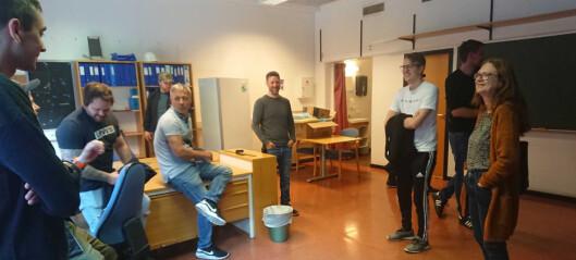 Til hausten kan Robert og dei andre studentane ta i bruk den nye utdanningshuben: – Vil kunne gje betydeleg større læreutbytte