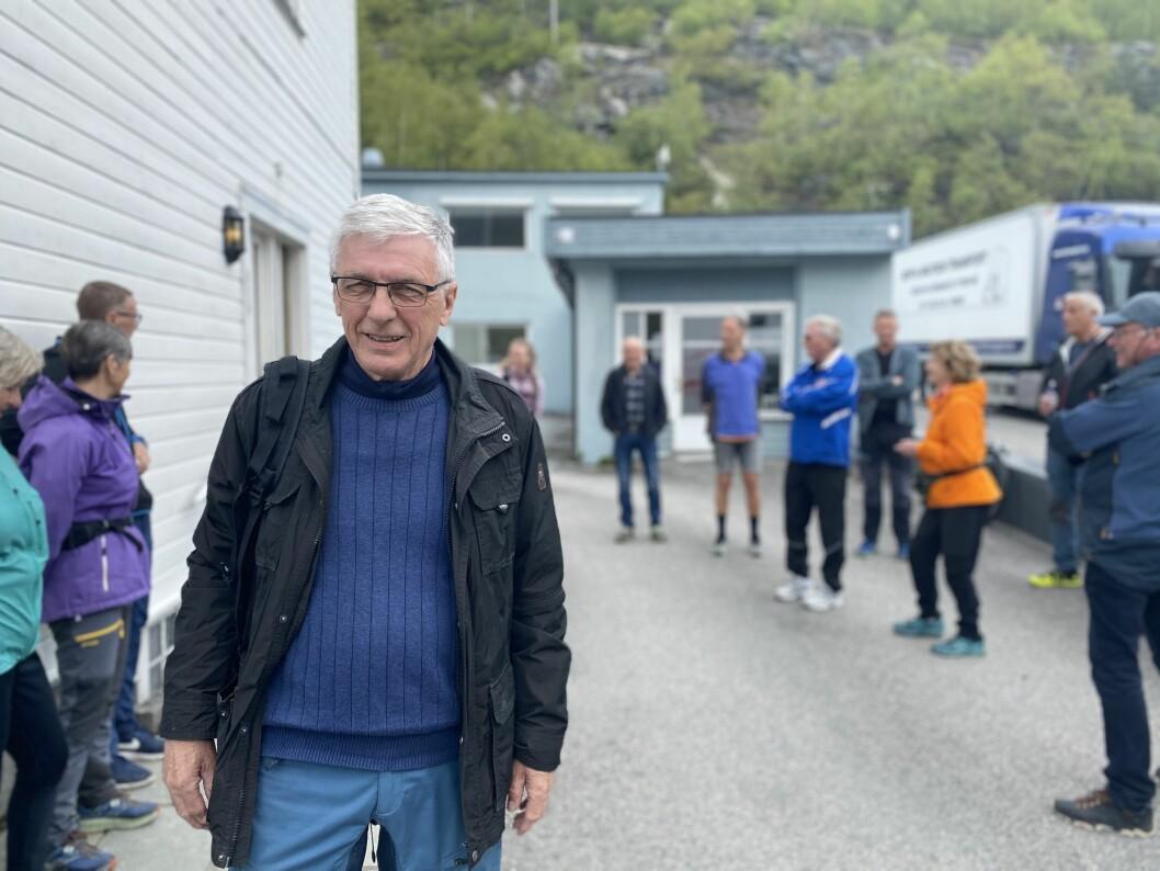 OVERVELDA: Iniativtakar Ingvar Laberg er overraska over den gode responsen. Svært mange ønskjer å bidra til bygdevandring i Øvre.