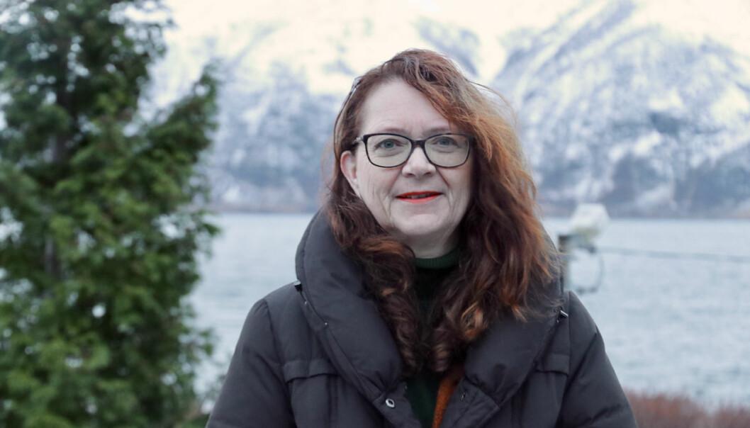 NÆRINGSSJEF: Ingrid Heggø har forlatt stortinget for å innta rolla som næringssjef i Høyanger.