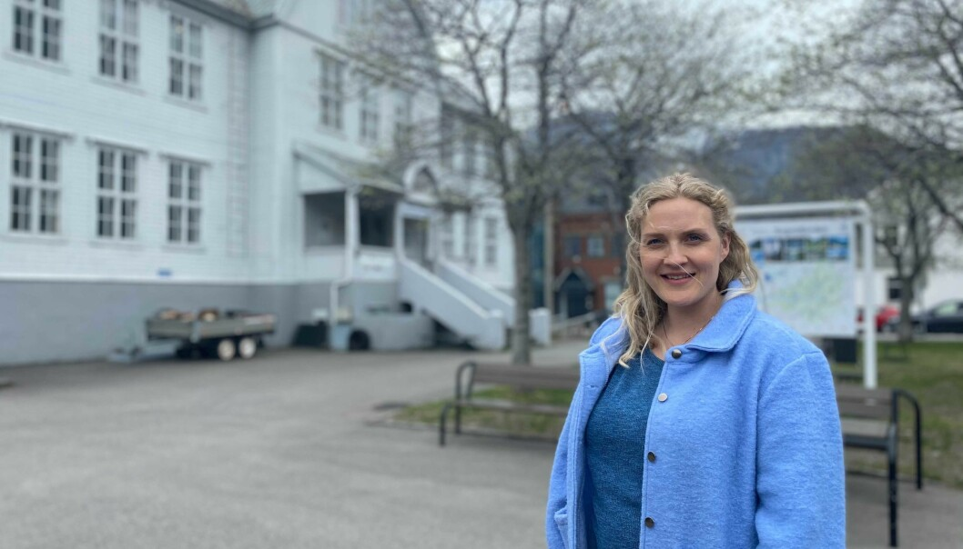 ÅRDAL: Astrid Øvstetun håpar den belgiske TV-serien vil skape positiv merksemd rundt Årdal.