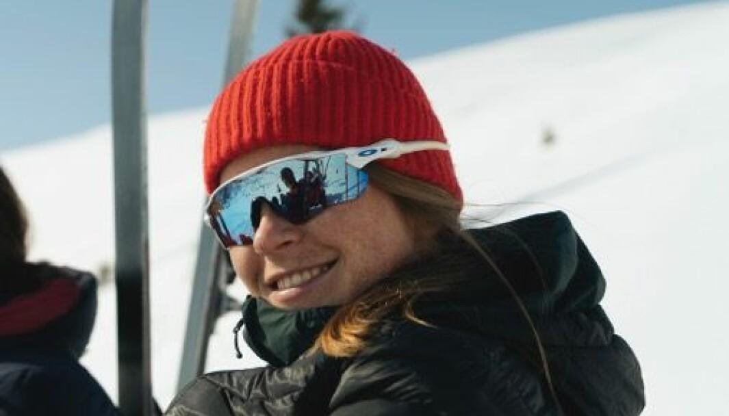 SOGNDAL: Anniken Helene Aalerud (25) er student, og har budd i Sogndal i fem år no. Der har ho blitt godt vand med flotte naturopplevingar rett utanfor døra.