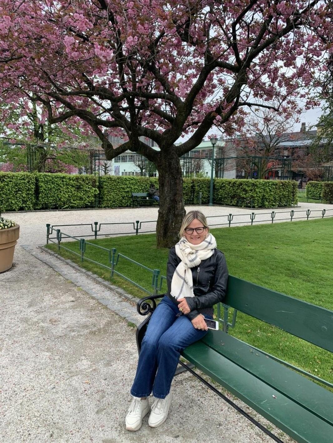 SPALTIST: Kristin Vee er fast spaltist i Porten
