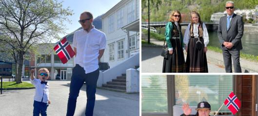 Jesper (2,5) har aldri gått i tog, familien Molland Sanden saknar tradisjonar, og Jan Erik mimrar om russetida