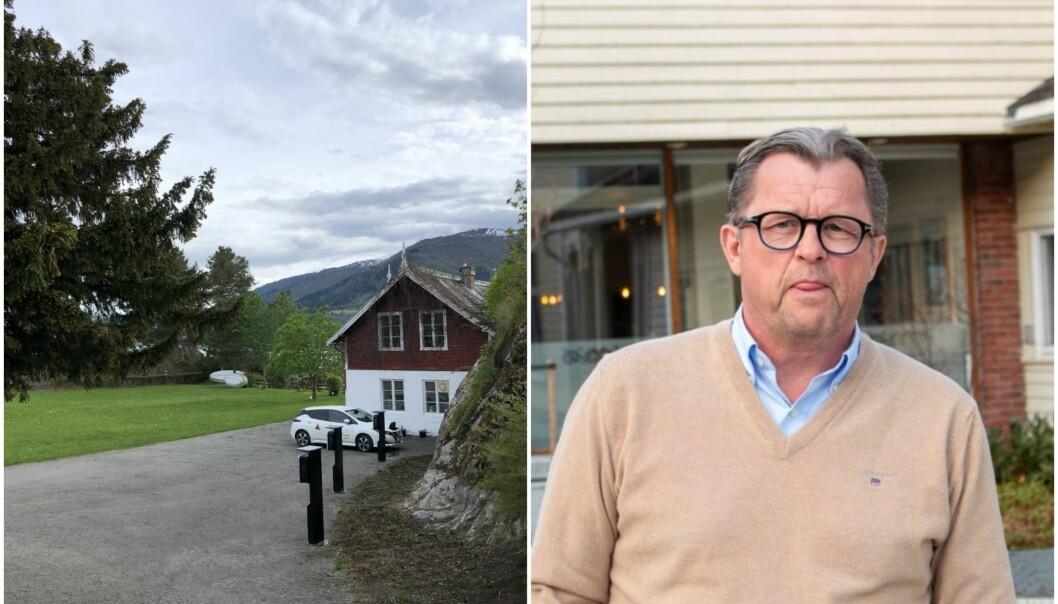 Sigurd Kvikne på Kvikne Hotell ville ha fleire elbilladarar, og SFE kom med eit tilbod han ikkje kunne seie nei til.