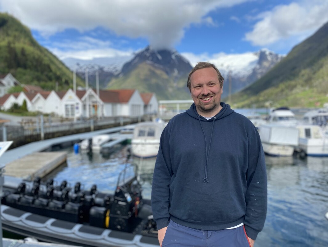 SPENT: Dagleg leiar Lars Arne Målsnes i Balestrand Adventure har allereie starta sesongen så smått.